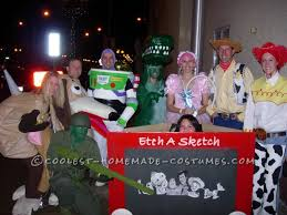 Toy Story Halloween Costumes Homemade Toy Story Group Costume Costume Infinity