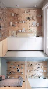 pegboard ideas kitchen 9 ideas for pegboard and dowels to create open shelving the