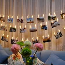 string lights with picture clips led string lights 20 photo clips battery fairy twinkle wedding party