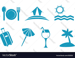 travel symbols images Travel symbols royalty free vector image vectorstock jpg