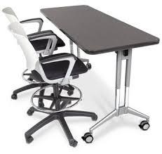 adjustable height training table all uxl adjustable height nest and fold training tables by smith
