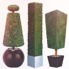 Artificial Topiaries - thermaleaf fire retardant artificial topiaries fire resistant