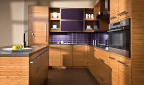 kitchen made of bamboo exposed kitchen cabinets new style