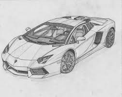 ferrari front drawing image for lamborghini aventador black and white drawing stuff to