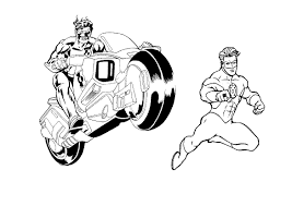 free green lantern coloring pages coloringstar