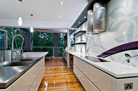 cool ways to update a kitchen with a glass backsplash