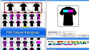 desain kaos futsal di photoshop tutorial membuat desain baju bola dengan mudah youtube