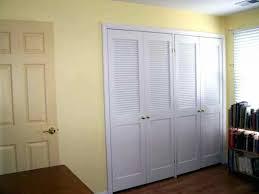 Bypass Doors Closet Closet Bypass Doors For Closets Easy And Louvered Closet