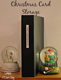 christmas card storage simply darr ling