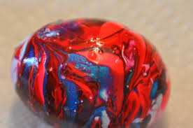 Decorating Easter Eggs With Nail Polish by Nail Polish Marbled Easter Eggs The Resource And Education Spot