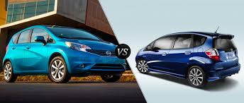 compact nissan versa or similar nissan note vs honda fit which one is your new hatchback car