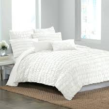 Ruffle Duvet Cover Full Duvet With Ruffle Edges Sweet Candy Ruffle Duvet Cover Set White