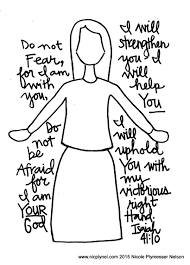 faithful promises 2 names of god downloadable coloring page