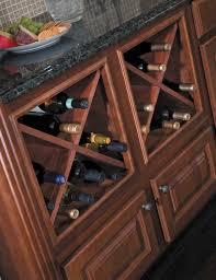 kitchen cabinet wine rack home design