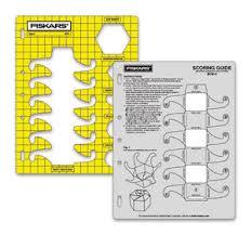 fiskars shapecutter template and scoring guide box 3 ebay