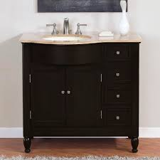 46 Bathroom Vanity Best 46 Bathroom Vanity Cabinets Genwitch Concerning Prepare The