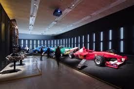 ferrari headquarters inside gallery ferrari exhibition at the design museum spectator life