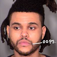 the weeknd s hair the weeknd arrested in las vegas for punching a cop ouch