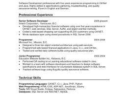 experience format resume resume sle format for experienced java developer j2eers years
