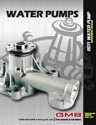make index standard water pump