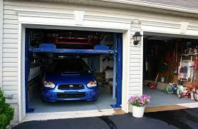 awesome car garages awesome garage lifts for cars 6 home car garage with lift 3 car