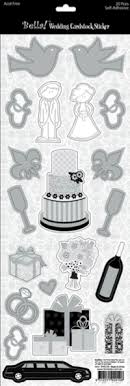 wedding scrapbook stickers wedding scrapbooking page 2
