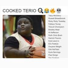 Terio Memes - cooked terio tracy mcgravy russell breastbrook ricky ruby tuesday