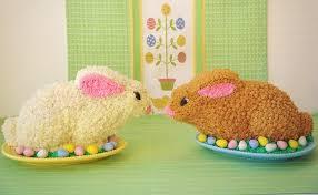 rabbit cake to make bunny cakes sugarywinzy