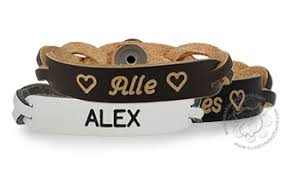 Personalized Name Bracelets Personalized Leather Bracelets Free Shipping