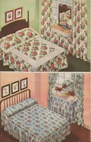 1942 sears christmas bedrooms my favorite style of bedspread in