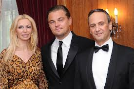 leonardo dicaprio and his wife salem al sabah right and his