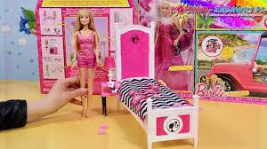 barbie doll and bedroom furniture set barbie sypialnia z lalką