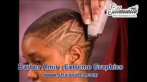 Barbershop Haircuts For Black Women Hair Instructional Video Barber Amir African American Woman