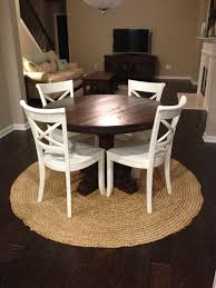 rustic round dining room tables rustic round pedestal table custom farm table rustic trades