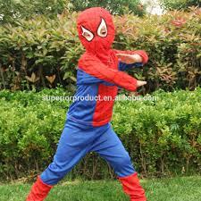 Childrens Spider Halloween Costume Children Cosplay Amazing Canvas Costume Suit Halloween