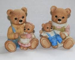 Home Interior Bears Home Interior Figurine Bears Etsy