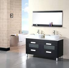 Double Vessel Sink Bathroom Vanities by Vanities Bathroom Double Vanity Contemporary Double Vanity Sinks