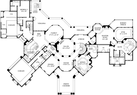 Luxury  Bedroom House Plans House Floor Plans Floorplans - 5 bedroom house floor plans