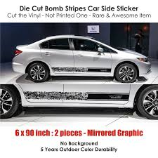 honda drift car honda i vtec dohc bomb stripes stickers racing japan infinity270