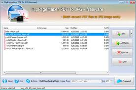 Pdf To Jpg Freeware Flippagemaker Pdf Coverter Automate The Conversions Of