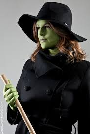 Witch Halloween Costumes Homemade Halloween Wicked Witch On What I Wore