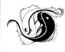 yin yang koi fish by putekatt on deviantart