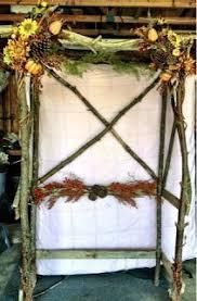 Wedding Arches Made Twigs Wedding Arch Handmade Wedding Arch Made Of Cedar By Tripledfarms