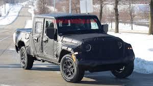 jeep wrangler pickup black jeep wrangler pickup truck coming in april of 2019 autoblog