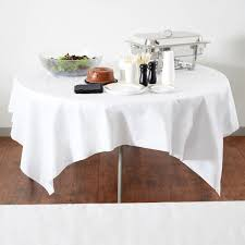white paper rolls for tables 210431 82 x 82 linen like white table cover 24 case