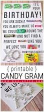 candy gram birthday card printable who arted