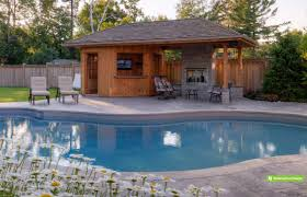 Pool House With Bathroom Pool Cabana Modern Google Search Pool Cabana Guest House With