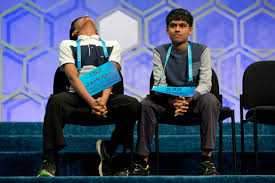 national spelling bee ends in its unlikeliest tie to date boston