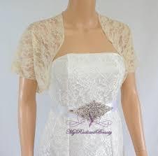 champagne lace jacket wedding bolero silk felt jacket wedding