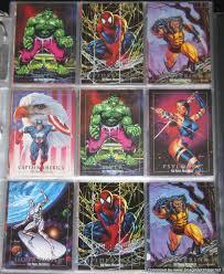 1992 marvel masterpieces prototype promo set jb s ultimate